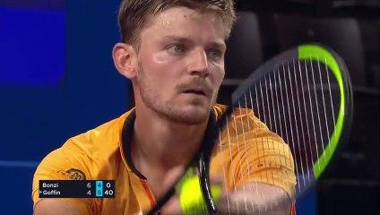 OPEN SUD DE FRANCE 2021 David Goffin vs Benjamin Bonzi - 2ème tour - Highlights