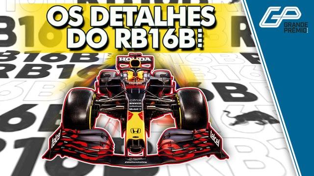 F1 2021: POR DENTRO DO RB16B, NOVO CARRO DA RED BULL   GP Notícias