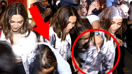 Deepika Padukone के Hand Bag को Fan ने खींचा, Restaurant के बाहर Mobbed VIDEO | Boldsky