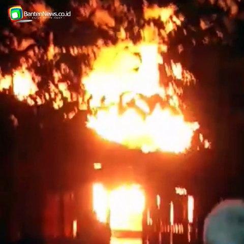Kebakaran di Pandeglang, Majelis Taklim Ludes Terbakar