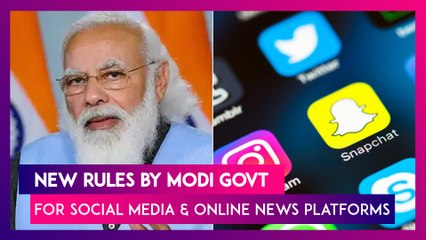 New Rules For Social Media And Online News Platforms By Modi Government, All You Need To Know