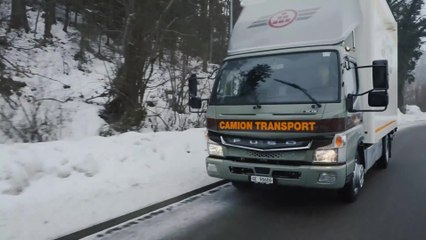 Grüezi eCanter! FUSO e-Lkw nun auch in der Schweiz im City-Einsatz
