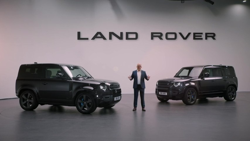 The Power of choice - Potent New Land Rover Defender V8 reveal