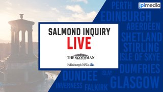 Alex Salmond Inquiry Live | Former FM appears before harassment complaints inquiry