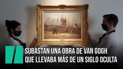 Subastan una obra de Van Gogh que llevaba más de un siglo sin verse en público