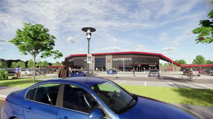 Sheffield FC's new stadium and visitor centre plans