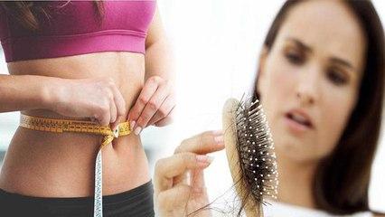 वजन घटने से बालों पर होता है बुरा असर, जरूर देखें वीडियो | Weight loss hair side effects | Boldsky
