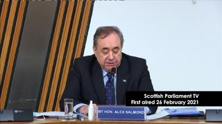 Alex Salmond Inquiry   Former First Minister's opening statement to the Harassment Complaint Inquiry