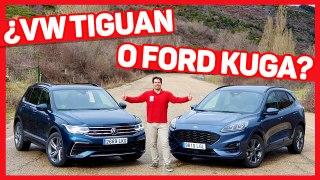 VIDEO: Volkswagen Tiguan vs Ford Kuga 2021, ¿cuál es mejor?