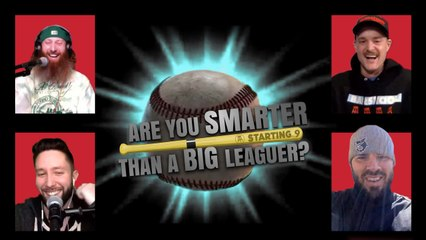 Are You Smarter Than A Big Leaguer? Episode 1: Mike Moustakas vs. Carl