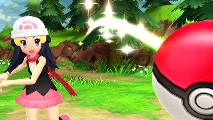 Pokémon Diamant Etincelant - Bande-annonce officielle Pokémon Presents