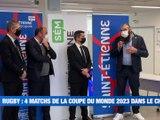 À la UNE : 4 matchs de la coupe du monde de rugby à Saint-Etienne / Deux classes fermées à Saint-Joseph à cause des variants / La circulation différenciée à Saint-Etienne / Un concert en livestream au FIL. - Le JT - TL7, Télévision loire 7