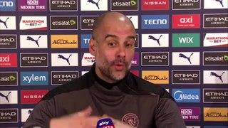 Guardiola previews City v West ham
