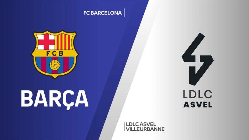 FC Barcelona - LDLC ASVEL Villeurbanne Highlights | Turkish Airlines EuroLeague, RS Round 26