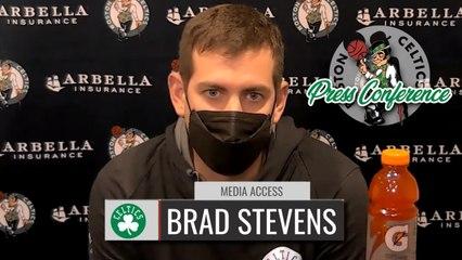 Brad Stevens Pregame Interview | Celtics vs. Pacers
