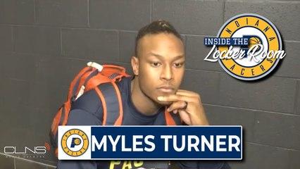 Myles Turner Postgame Interview | Celtics vs. Pacers