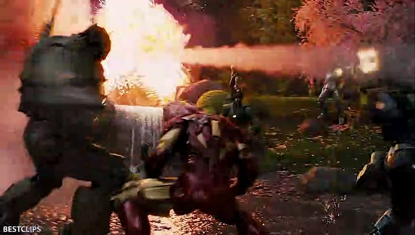 Iron Man And War Machine vs Ivan Vanko (Whiplash) - Final Fight Scene - Iron Man 2