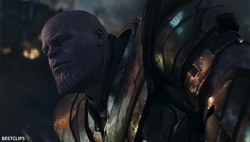 Iron Man, Captain America, Thor Vs Thanos - Fight Scene - AVENGERS 4 ENDGAME (2019)