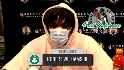 Robert Williams Postgame Interview | Celtics vs. Pacers