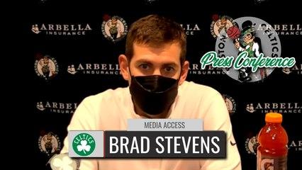 Brad Stevens Postgame Interview | Celtics vs. Pacers