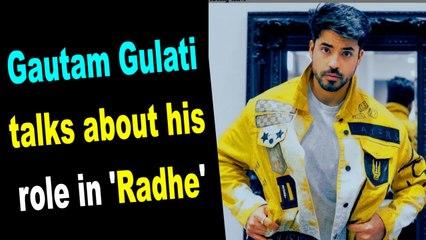 Ex-Bigg Boss contestant Gautam Gulati talks about his role in 'Radhe'