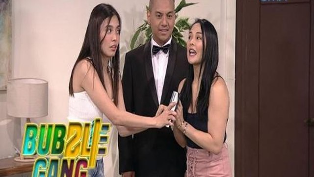 Bubble Gang: Amazingle app, ang boyfriend app na p'wedeng i-share!