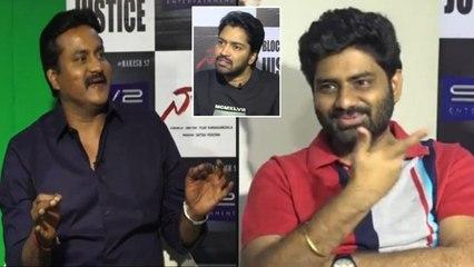 #Nandhi Movie Team Chit Chat With Sunil Part 2   Allari Naresh  Varalaxmi Sarathkumar