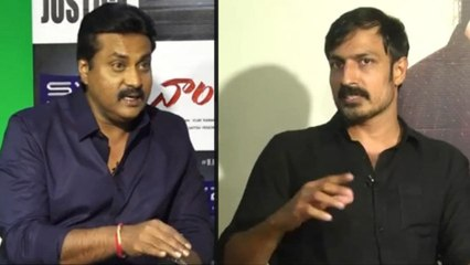 #Nandhi Movie Team Chit Chat With Sunil Part 3   Allari Naresh  Varalaxmi Sarathkumar