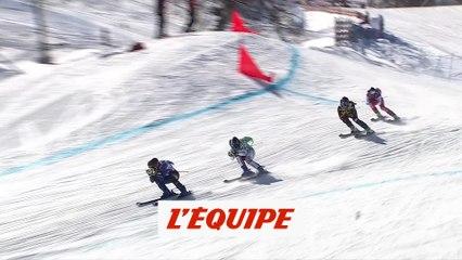 Smith victorieuse, Berger Sabbatel 3e - Skicross - CM (F)