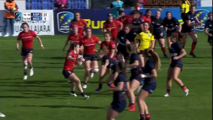 REPLAY SPAIN / NETHERLANDS - WOMEN'S RUGBY EUROPE CHAMPIONSHIP 2020