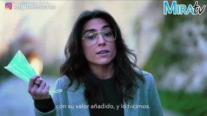 """Tati Ballesteros pone voz a los españoles: """"no se puede engañar a todo el pueblo todo el tiempo"""""""