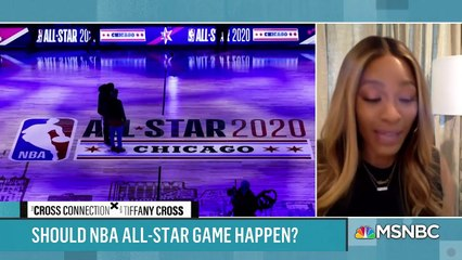 Pandemic All-Star game Loeffler Selling WNBA Team Political Sports Talk with Cross & Friends