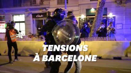 À Barcelone,  une nouvelle manif de soutien à Pablo Hasél dégénère