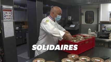 Des chefs étoilés offrent des repas à des étudiants de Colmar