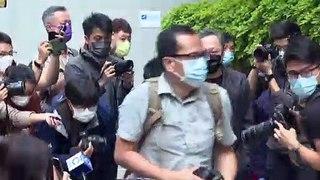 Formalizada acusação contra ativistas em Hong Kong