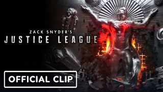 JUSTICE LEAGUE THE SNYDER CUT : The Mother Box Origins  Clip (2021) HBO Max DC