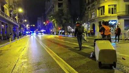 Los continuos altercados en Barcelona marcan la agenda política