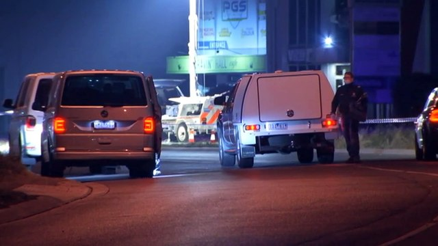 Drive-by shooting in Melbourne leaves man dead, another wounded
