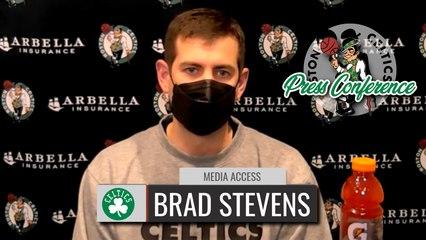 Brad Stevens Pregame Interview | Celtics vs  Wizards