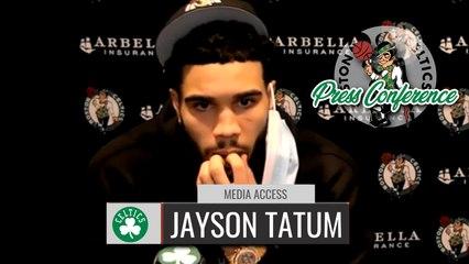 Jayson Tatum Reacts to his GAME WINNING SHOT