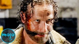 Top 10 Times Rick From The Walking Dead Went Beast Mode