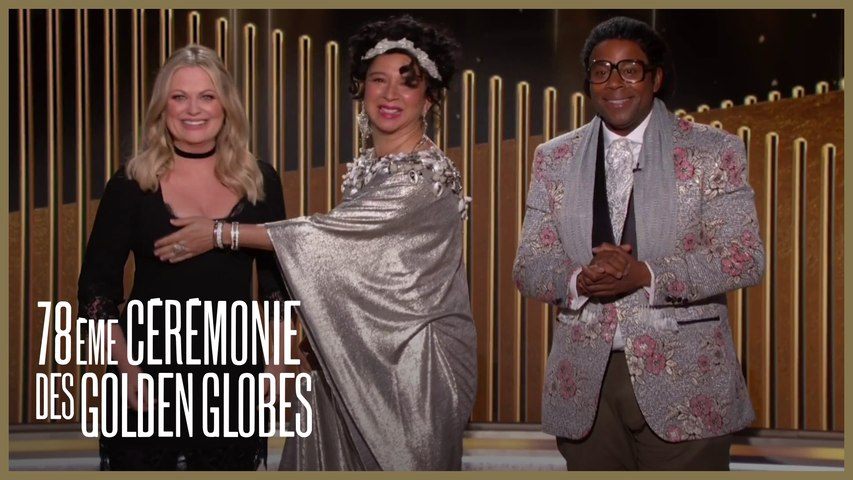 "Maya Rudolph et Keenan Thompson -  ""la chanson la moins originale"" - Golden Globes 2021"