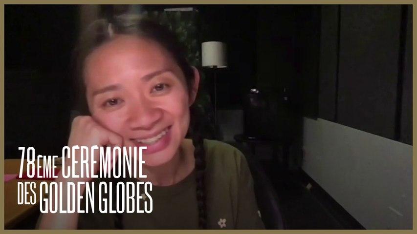 Chloé Zhao - Meilleure Réalisatrice pour Nomadland - Golden Globes 2021