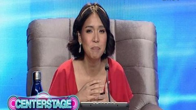 "Centerstage: ""You'll be a big diva!"" - Aicelle Santos"