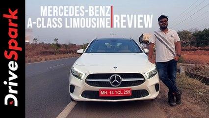 Mercedes-Benz A-Class Limousine Review | First Drive | DriveSpark
