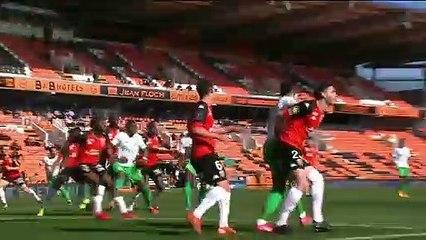 Le résumé de la rencontre FC Lorient - AS Saint-Etienne (2-1) 20-21