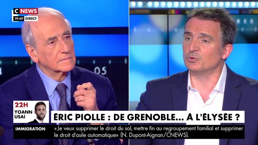 Le maire de Grenoble tacle Vincent Bolloré en direct sur CNews