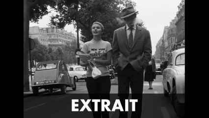 "A BOUT DE SOUFFLE – Extrait #2 ""New-York Herald Tribune...""  – Jean Seberg / Jean-Paul Belmondo"