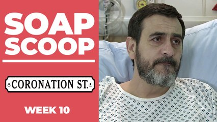 Coronation Street Soap Scoop! Peter rushed back to hospital