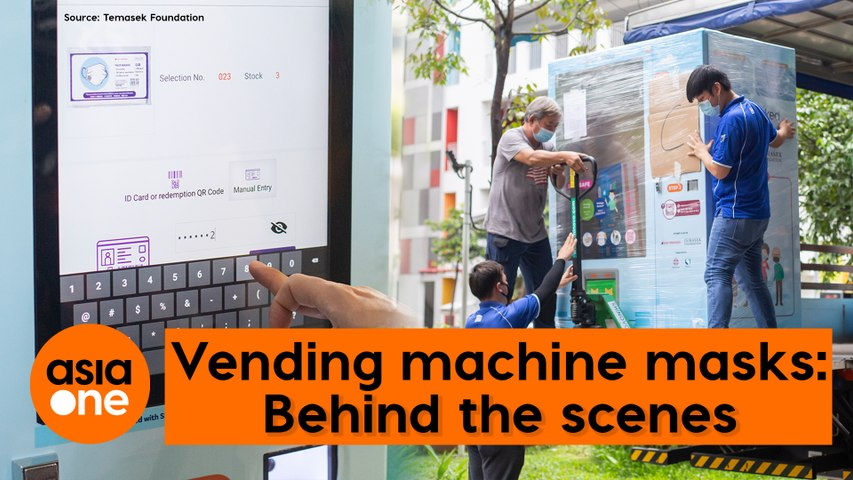 Vending machine masks: Behind the scenes